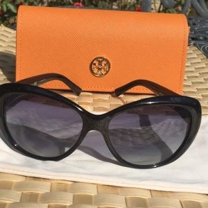 TORY BURCH SUNGLASSES WITH CASE